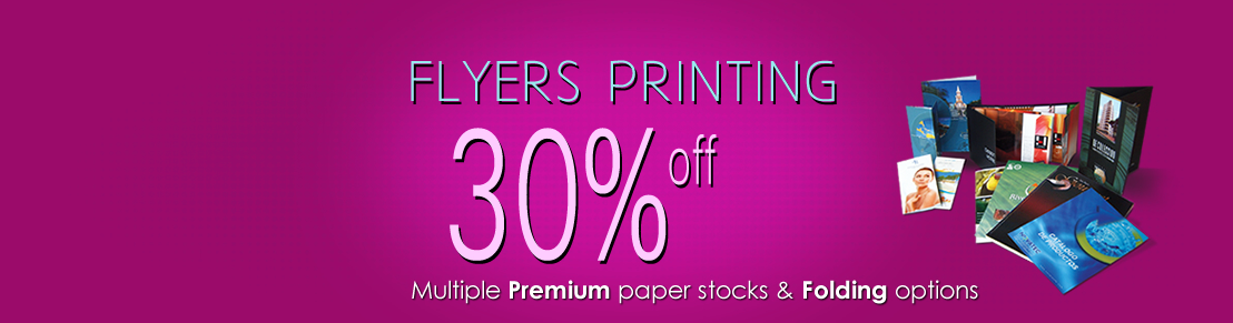 30% OFF on Flyers Printing